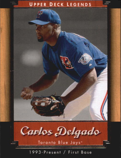 2001 Upper Deck Legends #9 Carlos Delgado