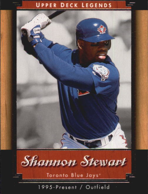 2001 Upper Deck Legends #10 Shannon Stewart