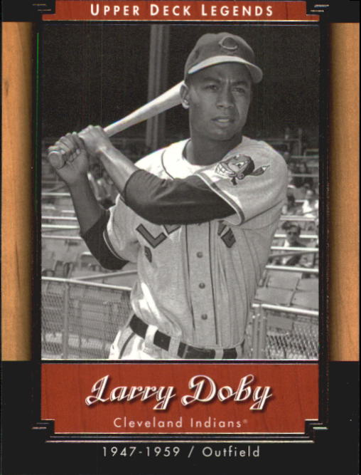 2001 Upper Deck Legends #12 Larry Doby front image
