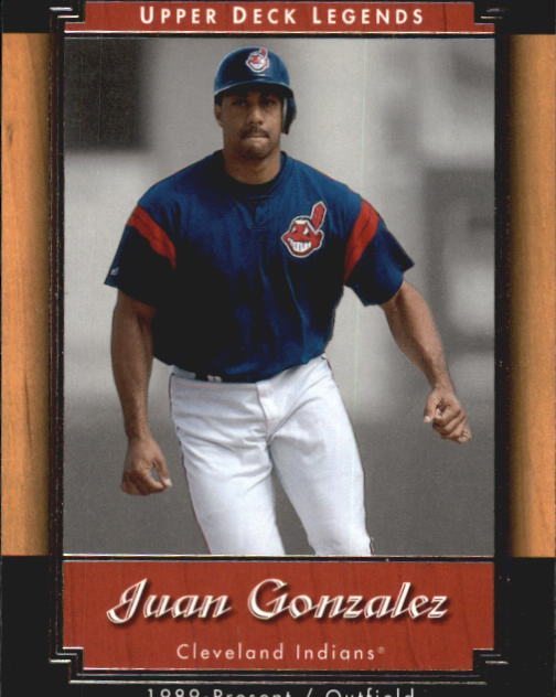 2001 Upper Deck Legends #14 Juan Gonzalez
