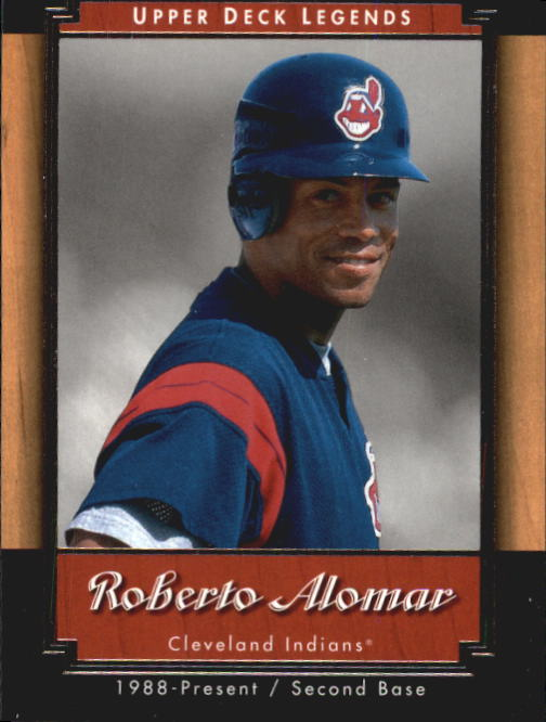2001 Upper Deck Legends #15 Roberto Alomar