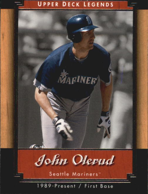 2001 Upper Deck Legends #17 John Olerud