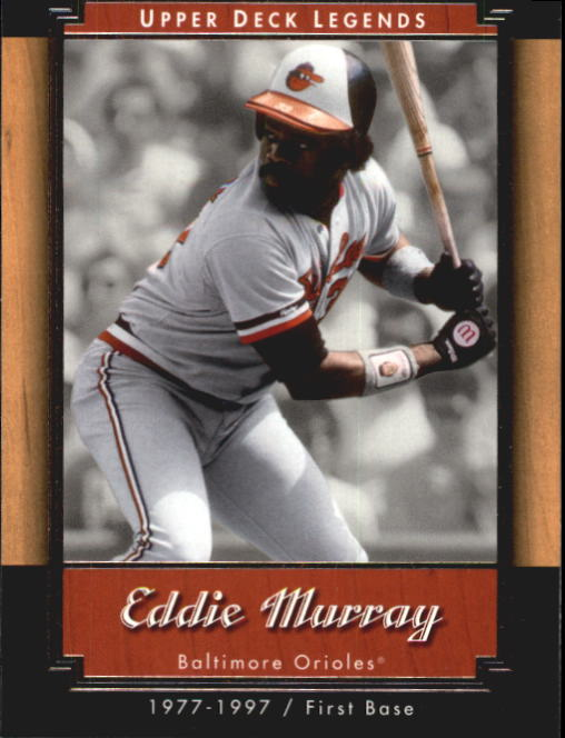 2001 Upper Deck Legends #18 Eddie Murray