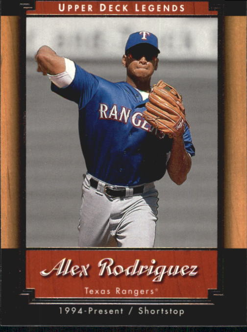 2001 Upper Deck Legends #20 Alex Rodriguez