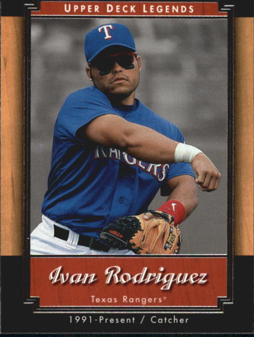2001 Upper Deck Legends #21 Ivan Rodriguez