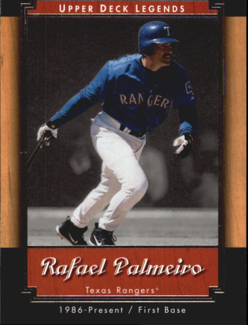 2001 Upper Deck Legends #22 Rafael Palmeiro