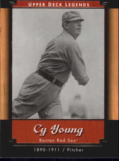 2001 Upper Deck Legends #24 Cy Young