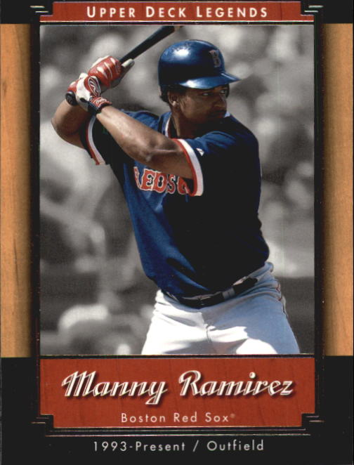 2001 Upper Deck Legends #25 Manny Ramirez Sox