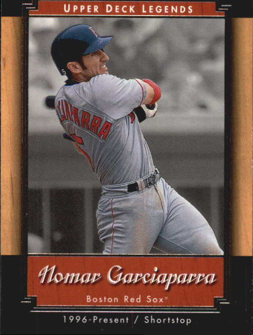 2001 Upper Deck Legends #27 Nomar Garciaparra