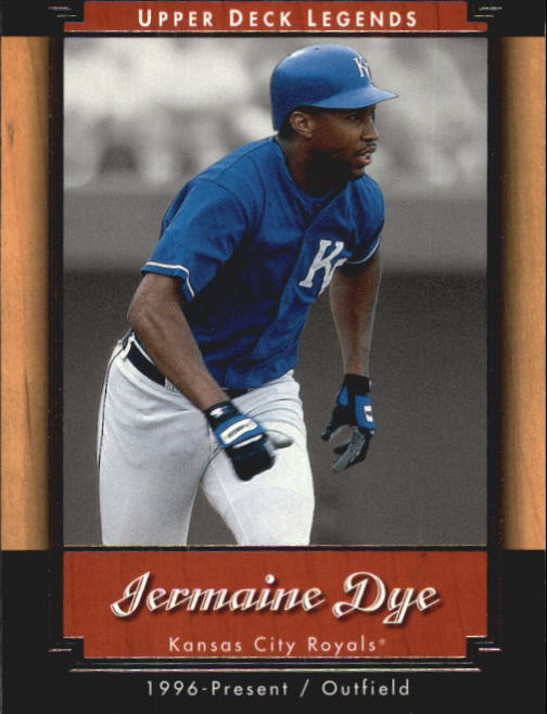 2001 Upper Deck Legends #30 Jermaine Dye