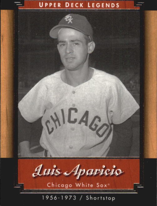 2001 Upper Deck Legends #35 Luis Aparicio front image