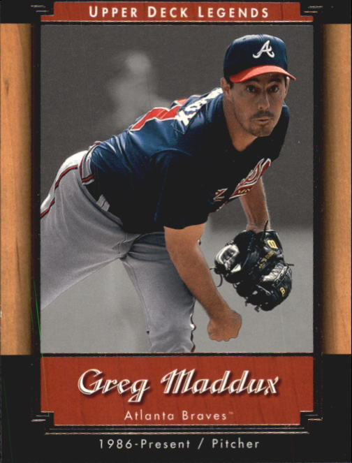 2001 Upper Deck Legends #49 Greg Maddux