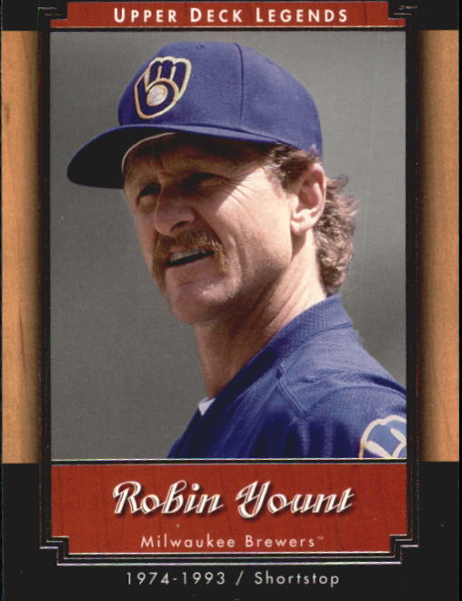 2001 Upper Deck Legends #52 Robin Yount
