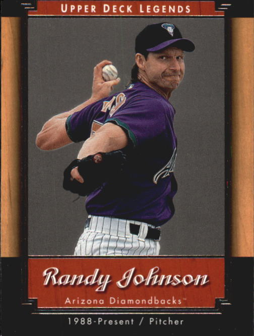 2001 Upper Deck Legends #62 Randy Johnson
