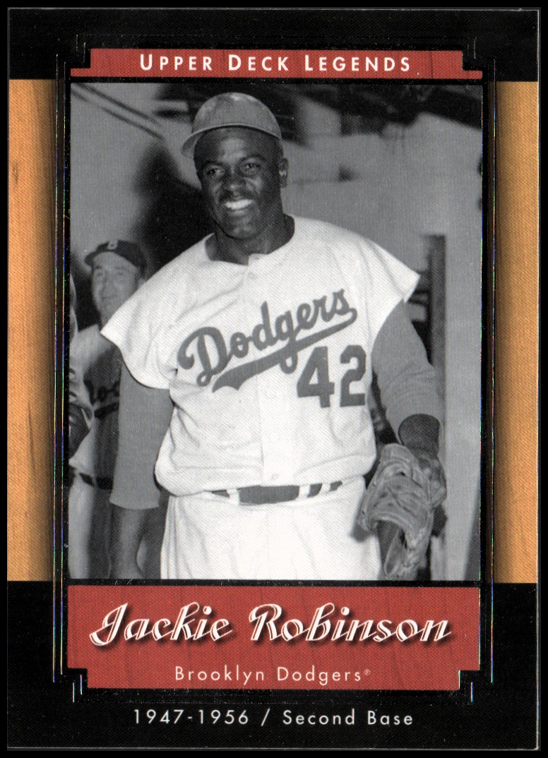 2001 Upper Deck Legends #65 Jackie Robinson