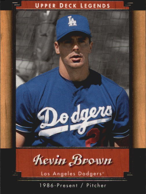 2001 Upper Deck Legends #67 Kevin Brown