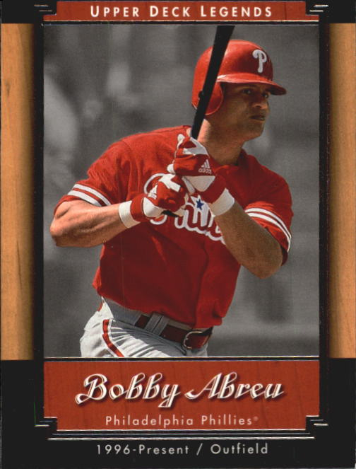 2001 Upper Deck Legends #80 Bob Abreu
