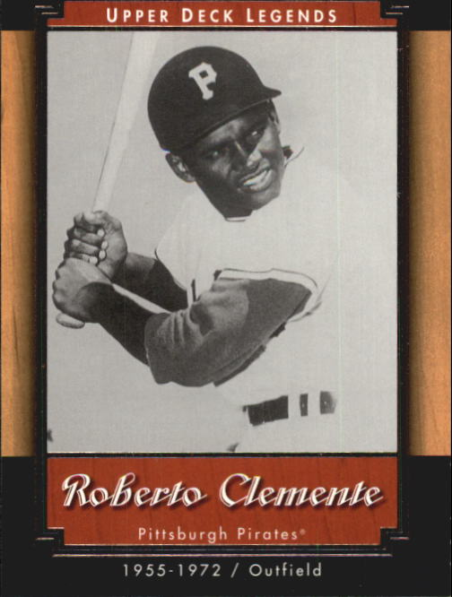 2001 Upper Deck Legends #83 Roberto Clemente front image