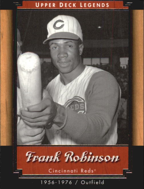 2001 Upper Deck Legends #86 Frank Robinson