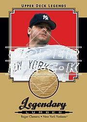 2001 Upper Deck Legends Legendary Lumber Autographs Gold #GSLRC Roger Clemens