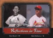 2001 Upper Deck Legends Reflections in Time #R5 M.McGwire/S.Musial