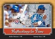 2001 Upper Deck Legends Reflections in Time #R7 S.Sosa/A.Dawson