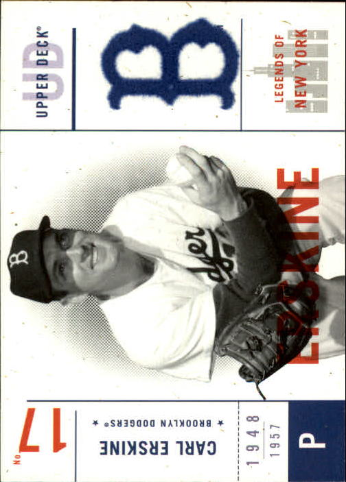 2001 Upper Deck Legends of NY #2 Carl Erskine