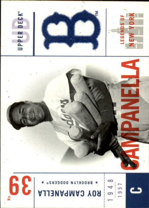 2001 Upper Deck Legends of NY #10 Roy Campanella