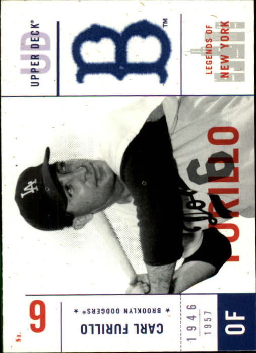 2001 Upper Deck Legends of NY #11 Carl Furillo