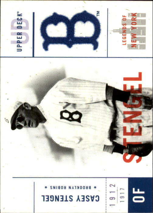2001 Upper Deck Legends of NY #12 Casey Stengel