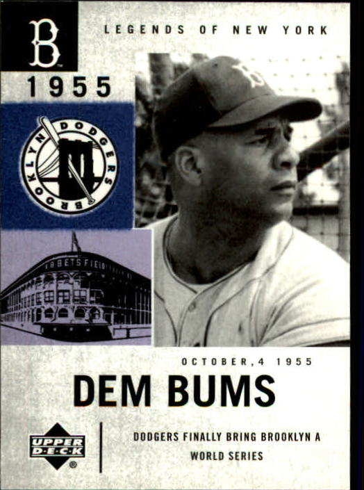 2001 Upper Deck Legends of NY #19 Roy Campanella DB