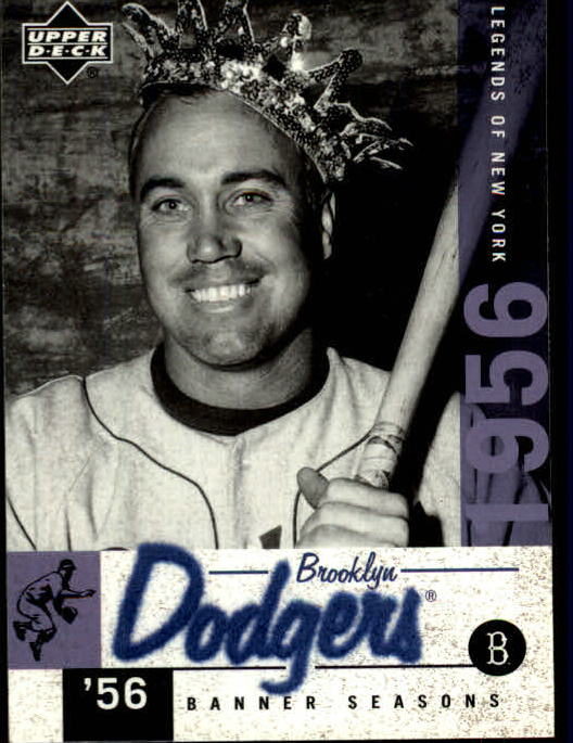 2001 Upper Deck Legends of NY #29 Duke Snider BNS front image