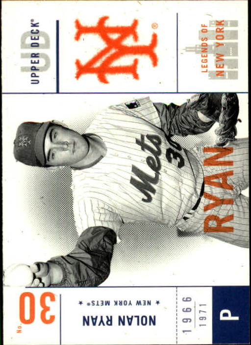 2001 Upper Deck Legends of NY #73 Nolan Ryan