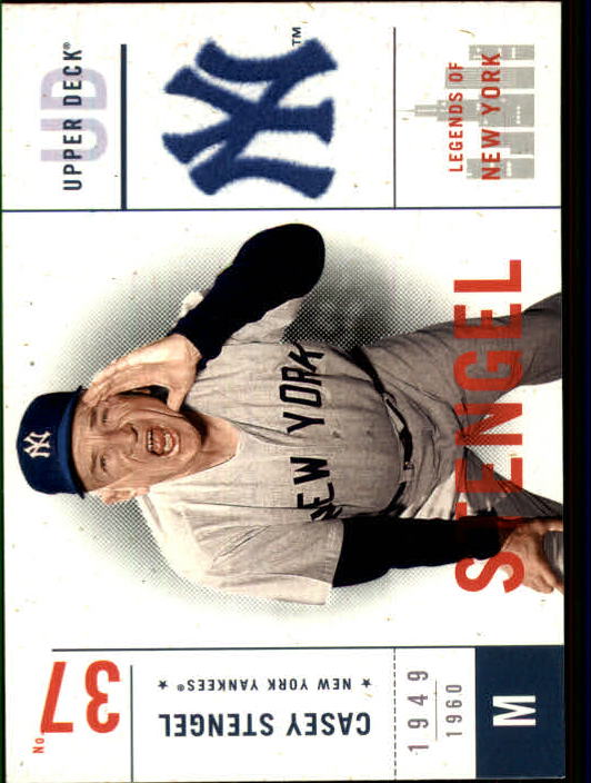 2001 Upper Deck Legends of NY #97 Casey Stengel