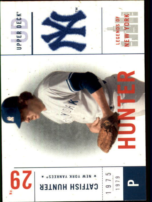 2001 Upper Deck Legends of NY #98 Catfish Hunter