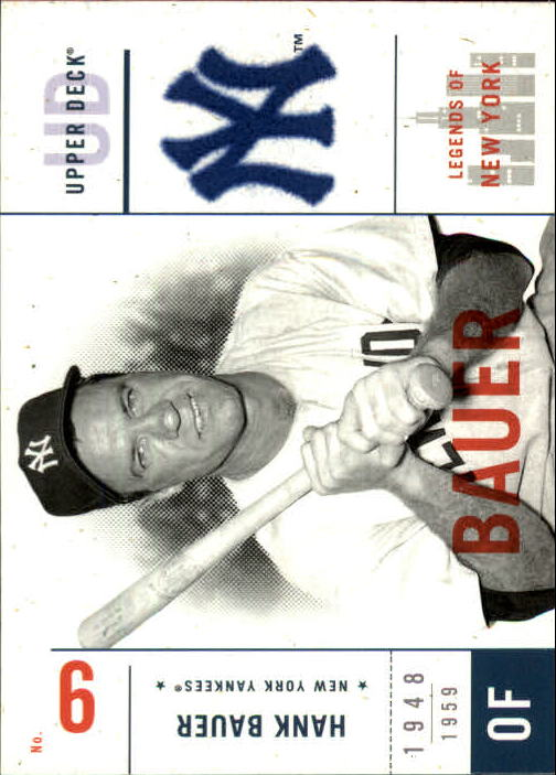 2001 Upper Deck Legends of NY #106 Hank Bauer front image