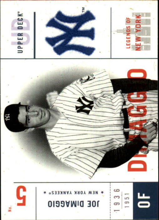 2001 Upper Deck Legends of NY #107 Joe DiMaggio