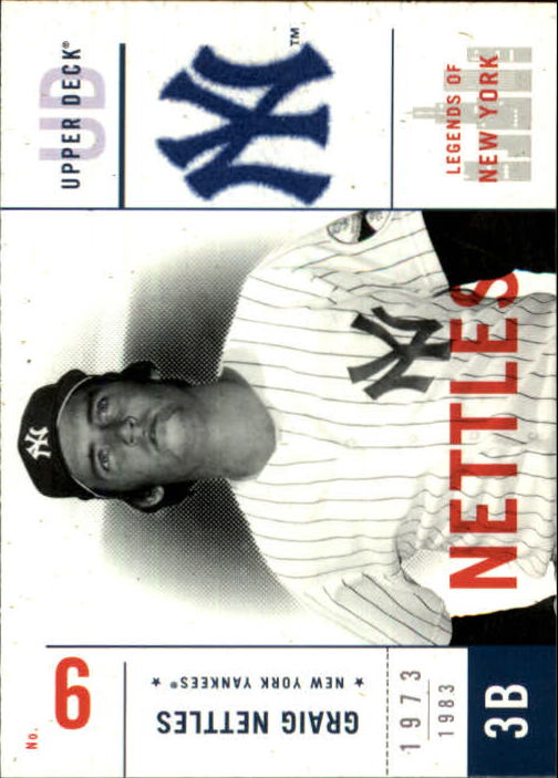 2001 Upper Deck Legends of NY #108 Graig Nettles