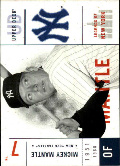 2001 Upper Deck Legends of NY #113 Mickey Mantle