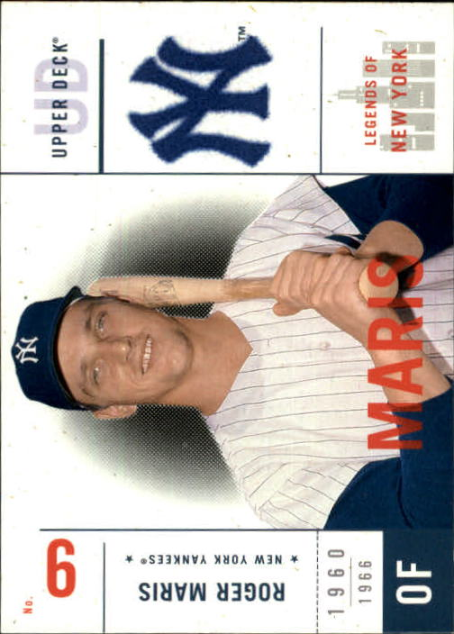2001 Upper Deck Legends of NY #116 Roger Maris front image