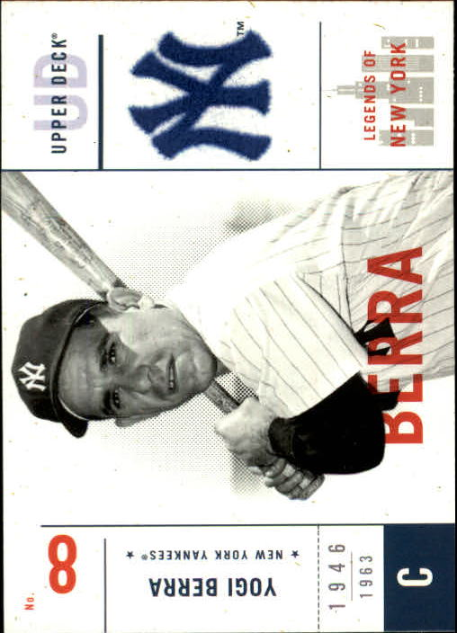 2001 Upper Deck Legends of NY #124 Yogi Berra