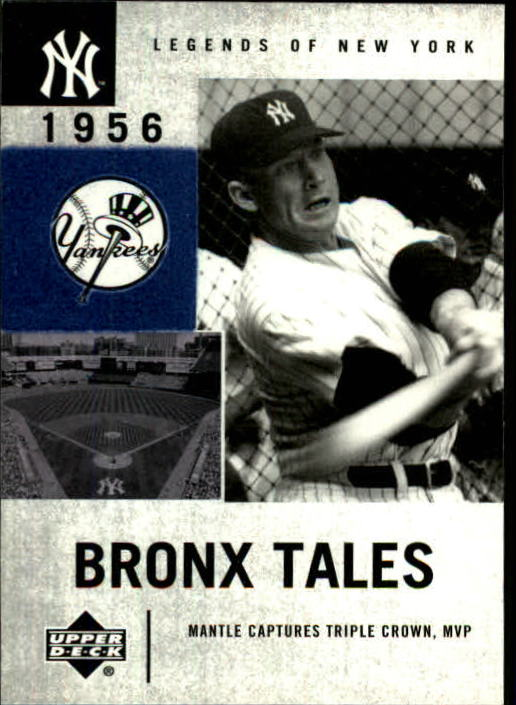 2001 Upper Deck Legends of NY #131 Mickey Mantle BT
