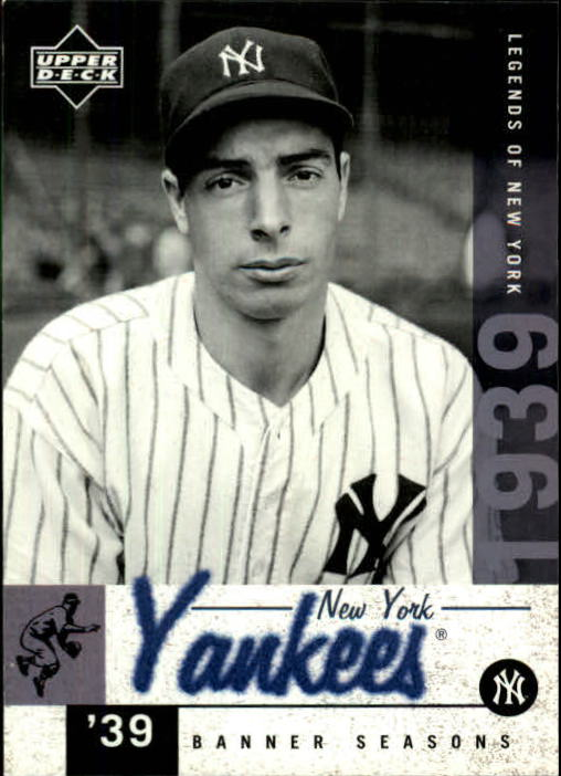 2001 Upper Deck Legends of NY #141 Joe DiMaggio BNS