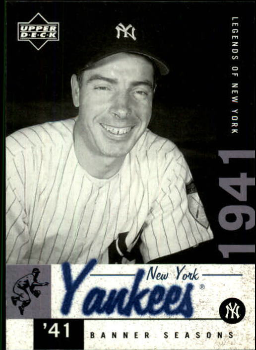 2001 Upper Deck Legends of NY #142 Joe DiMaggio BNS