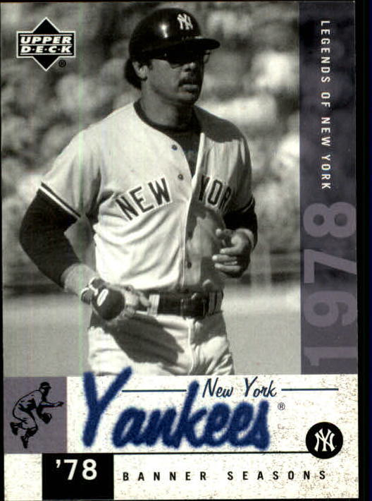 2001 Upper Deck Legends of NY #150 Reggie Jackson BNS