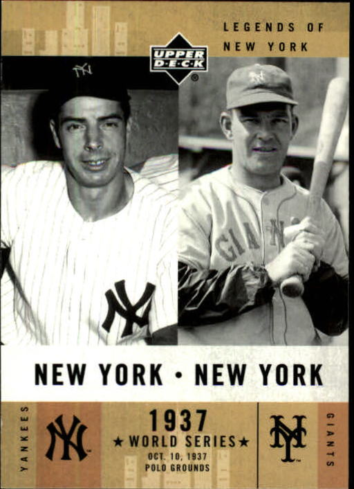 2001 Upper Deck Legends of NY #154 J.DiMaggio/M.Ott