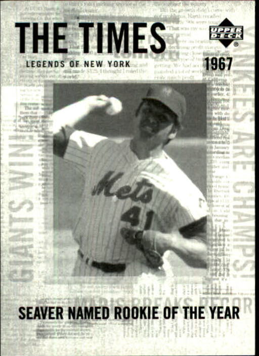 2001 Upper Deck Legends of NY #193 Tom Seaver TT