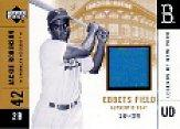 2001 Upper Deck Legends of NY Stadium Seat Gold #EFSJR Jackie Robinson
