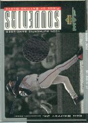 2001 Upper Deck MVP Game Souvenirs Batting Glove #GKG Ken Griffey Jr.