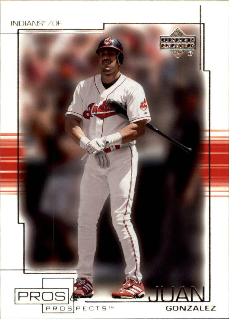 2001 Upper Deck Pros and Prospects #13 Juan Gonzalez